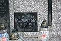 Tomb of Domański and Bezucha families at Central Cemetery in Sanok (2017) Danuta Kaczorowska.jpg