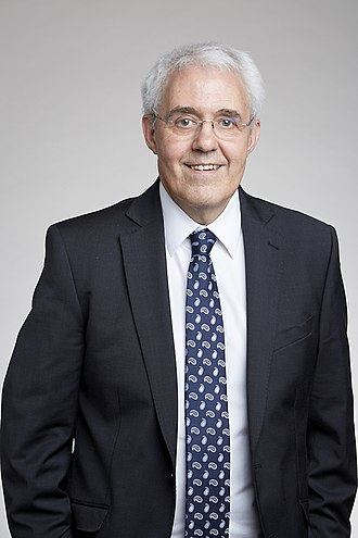 Tony Bell (physicist) - Tony Bell at the Royal Society admissions day in London, July 12017