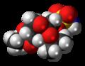 Topiramate molecule spacefill.png