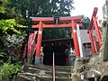 Torii of Otojiro Inari Shrine on Mount Atagoyama.JPG
