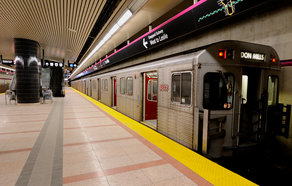 Toronto Dream Subway Map.Line 4 Sheppard Wikipedia