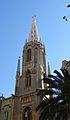 Torre amb agulla de la basílica de sant Vicent Ferrer, València.JPG