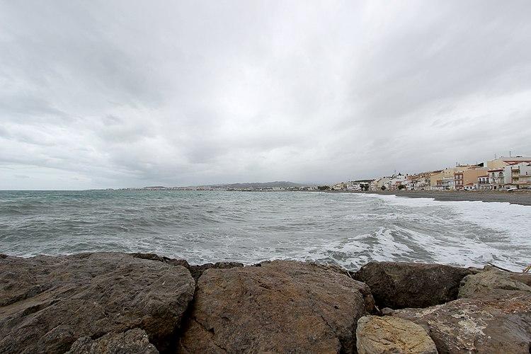 Torre del Mar (Spanien); Playa de Torre del Mar d.jpg