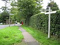 Totteridge, Barnet Lane fingerpost - geograph.org.uk - 957236.jpg