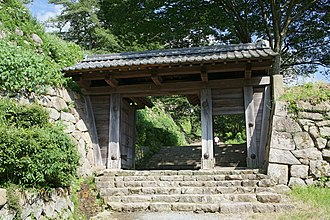 Tottori Domain - An inner gate of Tottori Castle