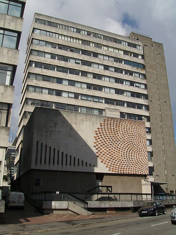 Cardiff University Tower Building Post Code