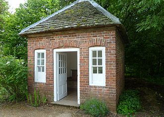 Avoncroft Museum of Historic Buildings - Townsend House privy