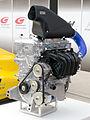 Toyota 3ZR Formula 4 engine front-left 2014 Super GT Suzuka.jpg