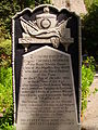 Trafalgar Cemetery gravestone 3.JPG