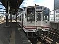 Train for Nogata Station at Yukuhashi Station.jpg