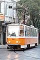 Tramway in Sofia in Alabin Street 2012 PD 035.jpg