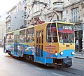 Tramway in Sofia in Alabin Street 2012 PD 051.jpg