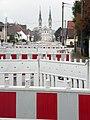 Travaux tram A avenue Mesmer Illkirch-Graffenstaden 06122014.jpg