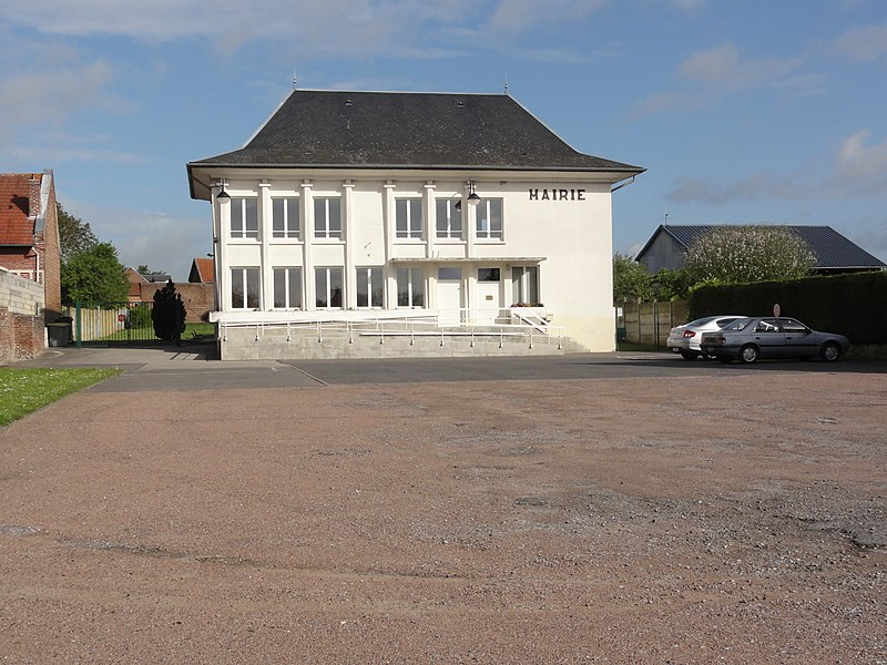 Travecy (Aisne) mairie