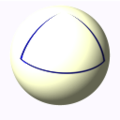 Triangle on spherical plane.png