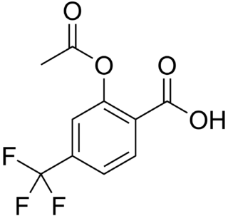 Triflusal chemical compound