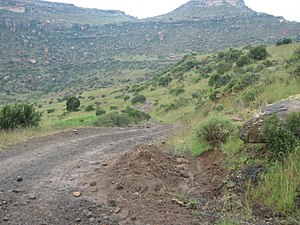 Quthing District - Image: Trip to Mt Moroosi panoramio (7)