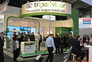 TripAdvisor - TripAdvisor booth at ITB Berlin 2014