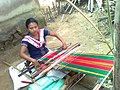 Tripura Woman With Her Handloom, Srimangal, 2010 by Biplob Rahman.jpg