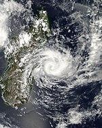 Cyclone Clovis approaching Madagascar