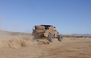 Truggy - Truggy racing the Baja 1000.