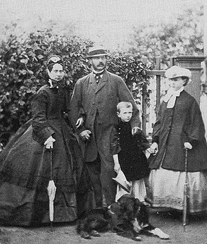 Grand Duke Sergei Alexandrovich of Russia - Grand Duke Sergei with his parents and his sister, Grand Duchess Maria Alexandrovna