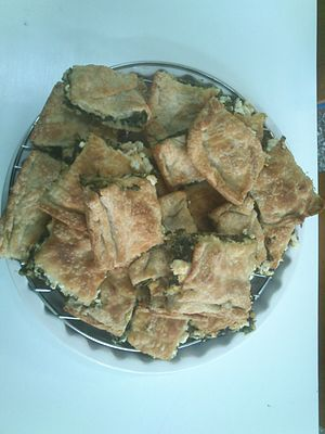 Cuisine of the Ionian islands - Image: Tsouknidopita