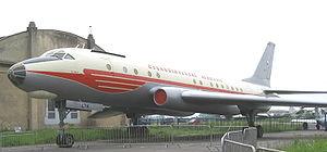 Prague Aviation Museum - Image: Tu 104A Prague