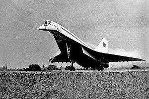 Tupolev Tu-144 - Tu-144 prototype in June 1971, Berlin–Schönefeld