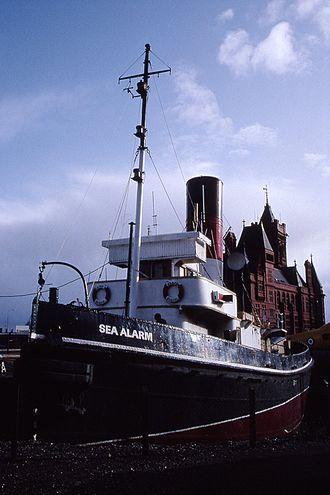 ST Sea Alarm - Image: Tug 'Sea Alarm' Welsh Industrial & Maritime Museum, Cardiff 28.10.1992 (10391907323)
