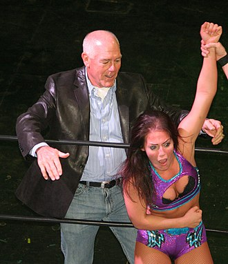 Tully Blanchard - Blanchard with his daughter Tessa in 2014