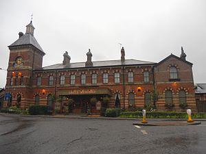 Spa Valley Railway - The original Tunbridge Wells West station building.