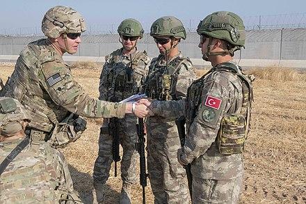 Turkish patrol., From WikimediaPhotos