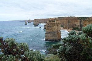 English: Twelve Apostles on the Great Ocean Ro...