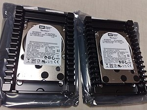 Western Digital - Two third-generation 1 TB VelociRaptors in IcePack mounting frames