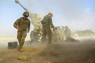 2017 Western Iraq campaign - Image: U.S. Army Al Qaim, Iraq, Nov. 07, 2017