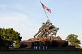 U.S. Marines perform during the Sunset Parade at the Marine Corps War Memorial in Arlington, Va., June 4, 2013 130604-M-MM982-063.jpg
