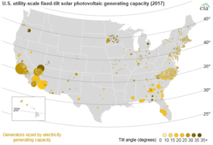 Solar Power In The United States Wikipedia - Us-electric-utility-map