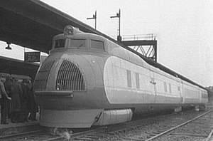 M-10000 - Union Pacific's M-10000 streamliner