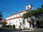 First United Methodist church. 305 East Anapamu Street. Santa Barbara, California, USA