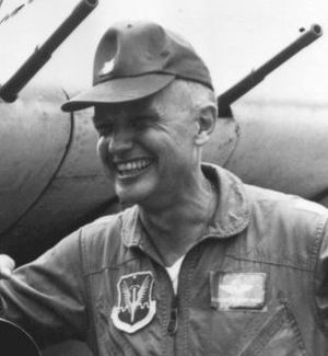 Eugene Peyton Deatrick - Gene Deatrick by A-1E Skyraider in 1966