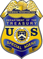 IRS-CI Special Agent Badge