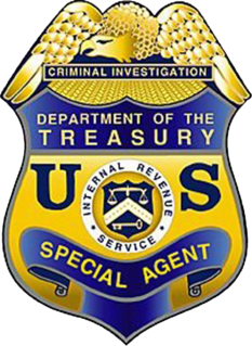 IRS Criminal Investigation Division Financial crimes investigation division of the IRS
