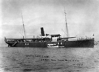 USS Zafiro (1884) - Image: USNC Zafiro