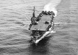 USS Cowpens (CVL-25) underway at sea in 1945 (80-G-468977).jpg