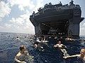 USS Iwo Jima swim call 150418-N-JN023-549.jpg