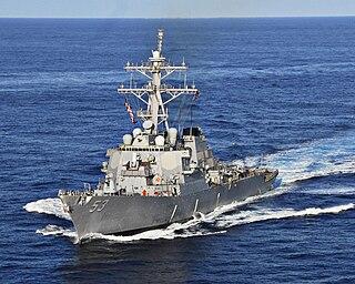 USS <i>John Paul Jones</i> (DDG-53) Arleigh Burke-class destroyer