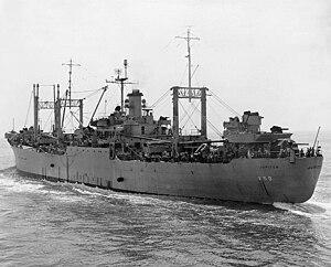 USS Jupiter (AK-43) - Image: USS Jupiter (AVS 8)