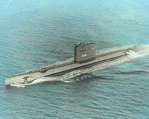 USS Trout (SS-566), ca. 1969.