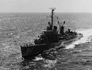 USS Walker (DD-517), 1969